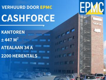 Gencor verwelkomt Cashforce in hun kantoorgebouw in Herentals