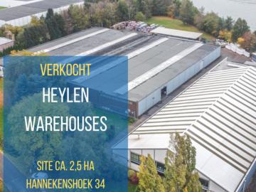 Heylen koop bedrijvensite in Herentals