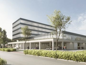 Hypermoderne kantoren in de Kempen