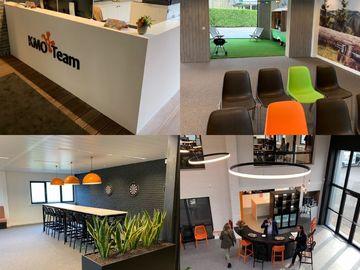 Kmo-Team delet nieuw businesscenter met andere ondernemers