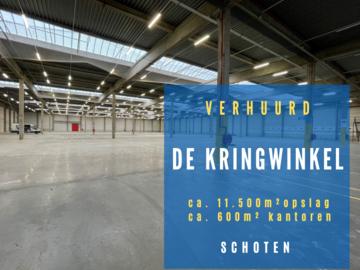 Nieuwe logistieke hub te Schoten voor de Kringloopwinkel Antwerpen