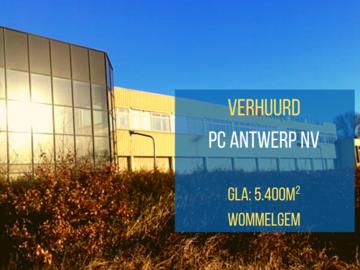 PC Antwerp NV huurt China Trade Center Wommelgem