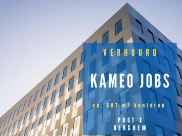 POST X verwelkomt KAMEO Jobs