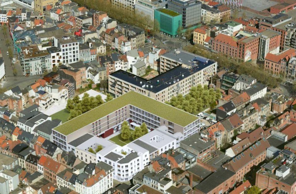 Falconhoven in Antwerpen