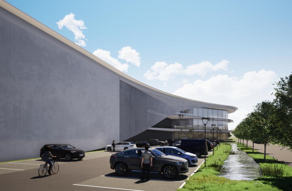 Industrieel gebouw te huur in Lummen